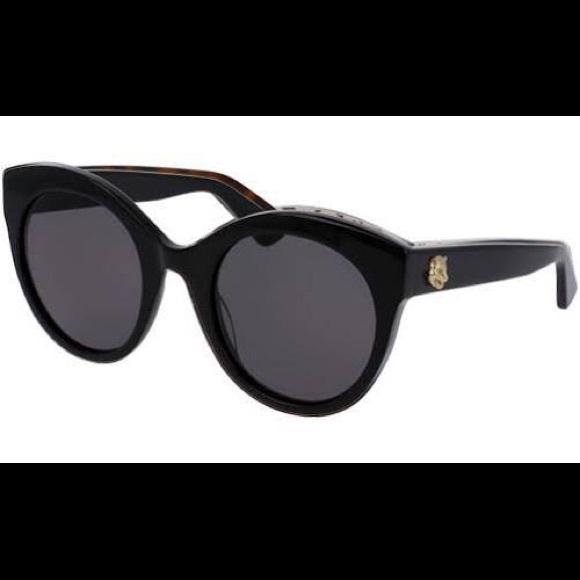 07da5a5dcdb Gucci Accessories - Gucci gg0028s round cateye sunglasses